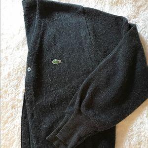Vintage Lacoste Cardigan, Medium